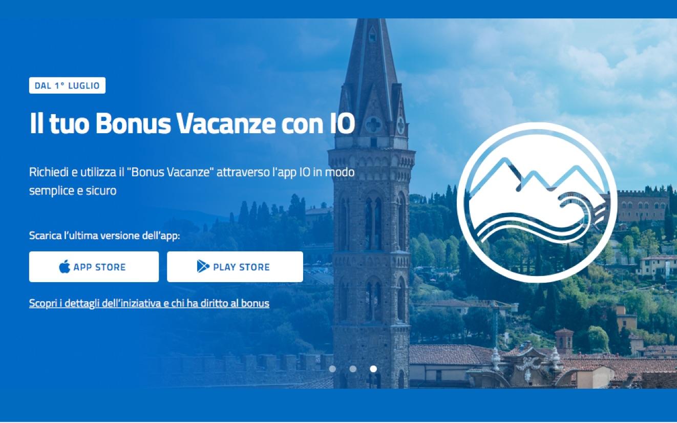 Il bonus vacanze 2020 passa da un'app: ecco come funziona