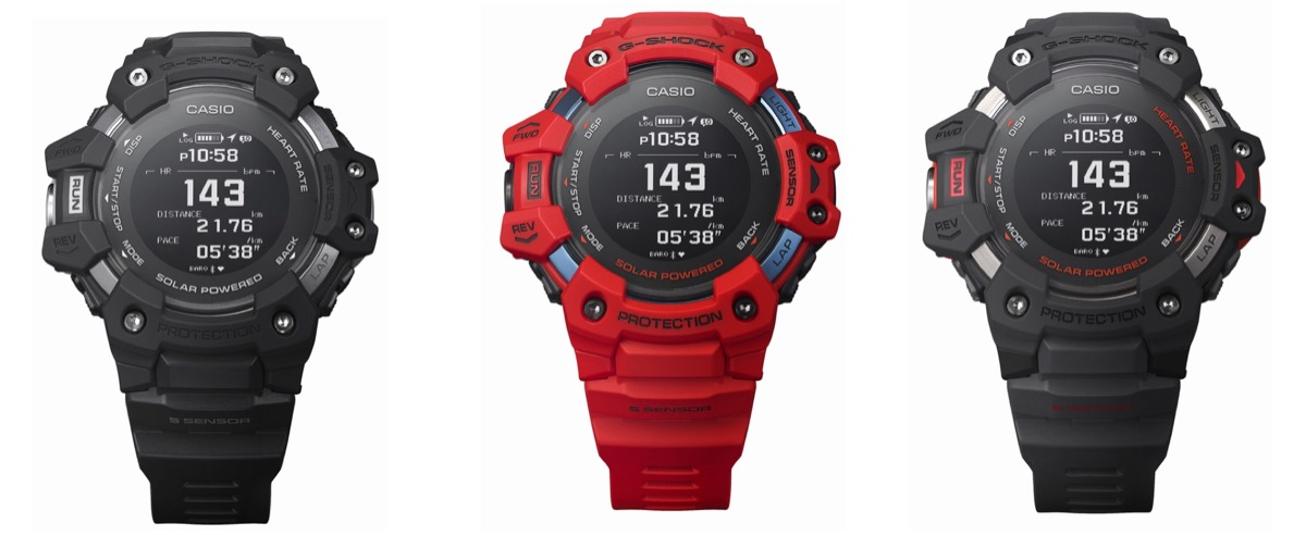 Il G-Shock di Casio ora è connesso: dentro, GPS e cardiofrequenzimetro