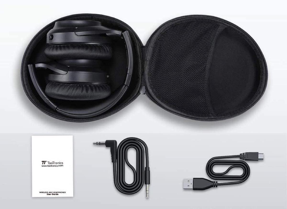 TaoTronics BH060, cuffie Bluetooth 5.0 con tecnologia ANC: ultimi giorni in offerta a 38,99 euro spedite