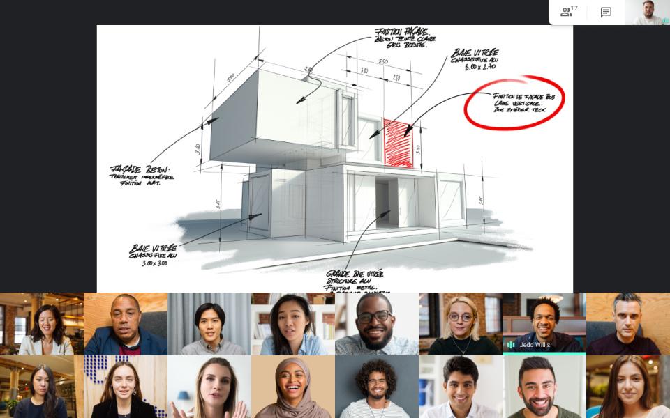 Google Meet aggiunge le presentazioni al suo layout a piatrelle