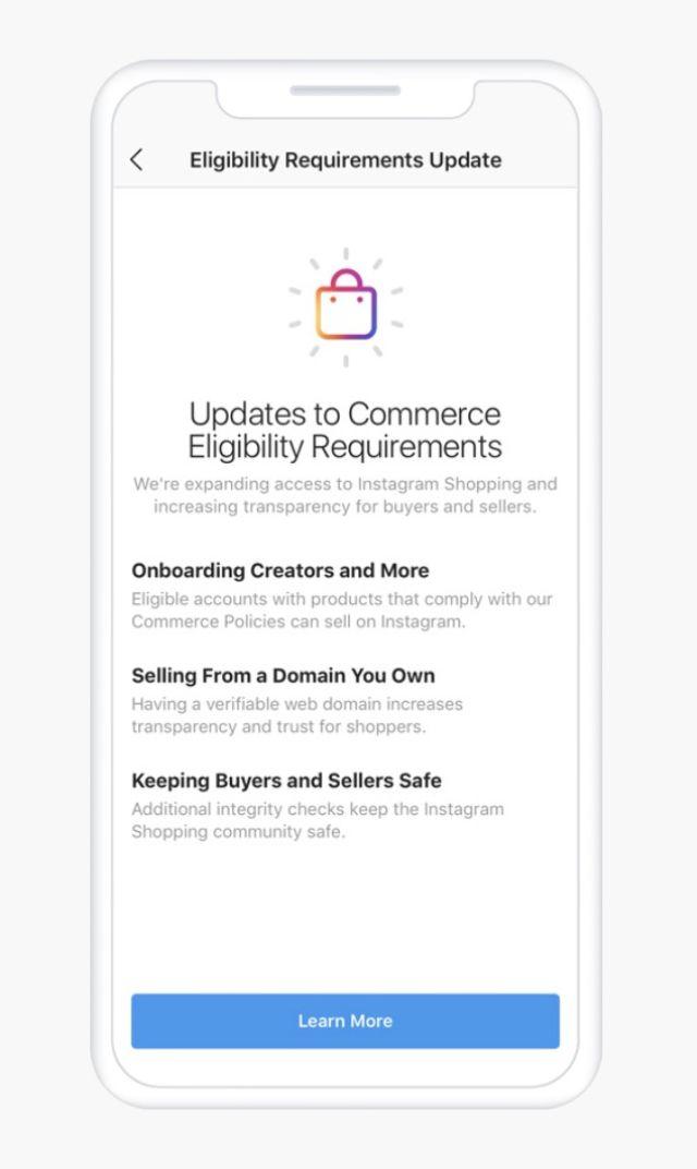 Instagram consentirà ai creatori di vendere i prodotti nell'app