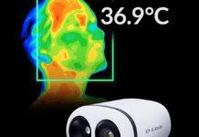 Coronavirus sotto controllo con la telecamera termografica D-Link DCS-9500T