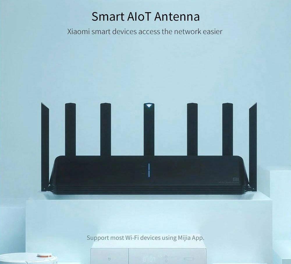 Router Xiaomi AX3600 Wifi 6 e 5G in offerta a 118,94 euro per un tempo limitato