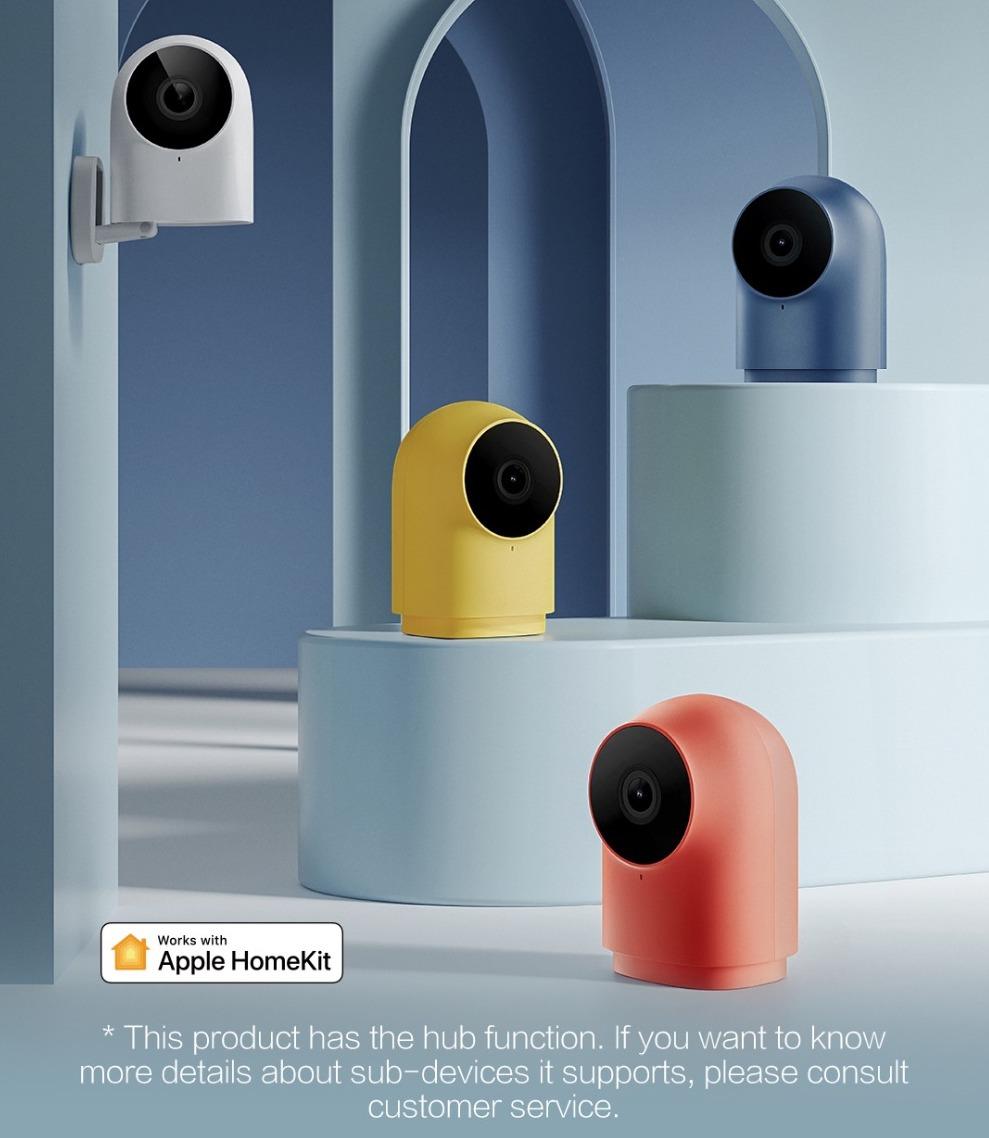 Aqara G2H: ecco la camera di sicurezza HomeKit Secure Video è disponibile