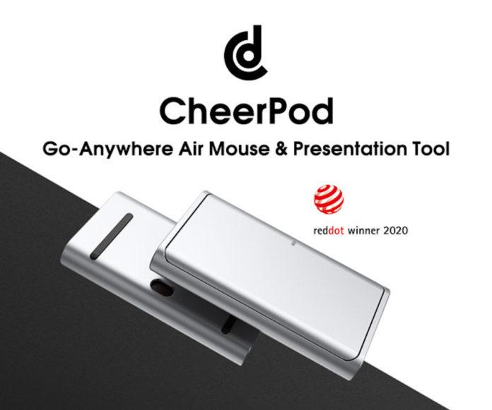 CheerPod, touchpad e Air Mouse in uno: l'ambizioso progetto è su Indiegogo
