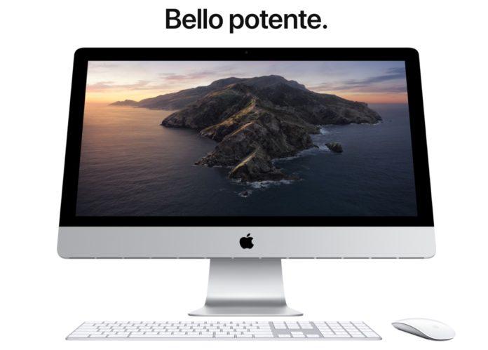 Apple presenterà un iMac con nuovo design alla WWDC20
