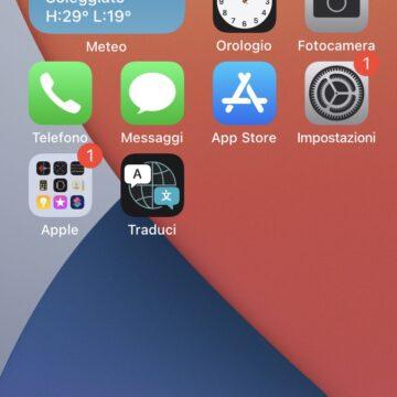 Come aggiungere i widget tra le app nella schermata principale di iPhone con iOS 14
