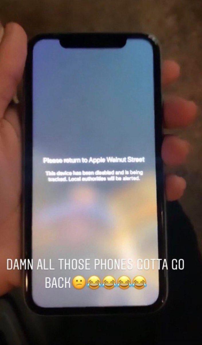 Apple ha disabilitato e sta tracciando gli iPhone saccheggiati nei negozi USA