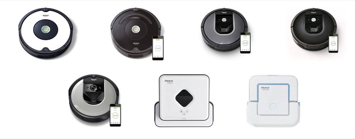 Pulizia casalinga automatizzata con le periferiche iRobot in sconto fino al 47%