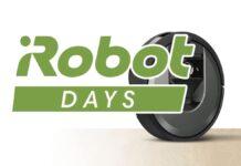 iRobot Days, aspirapolvere e lava-pavimenti automatici in sconto fino al 51%