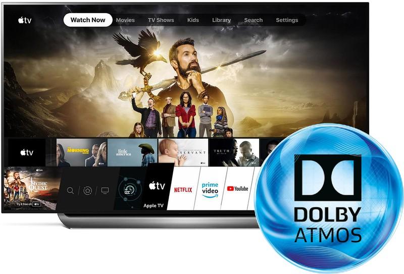 Le Smart TV LG ottengono il supporto Dolby Atmos per l'app Apple TV