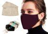 Mascherina in cotone colorata con filtri FFP2 intercambiabili in sconto a soli 6,54 euro