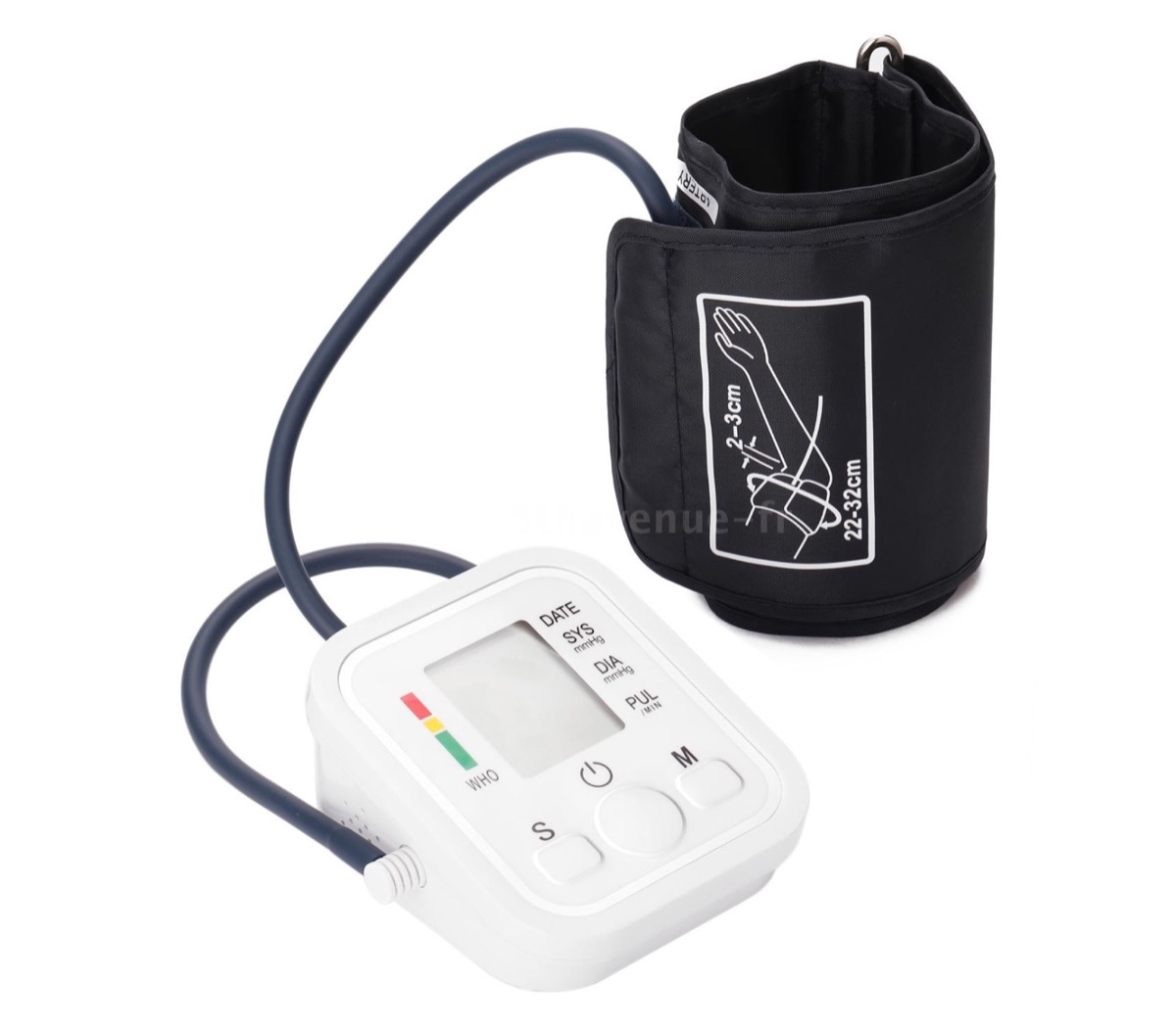 Covid sotto controllo con termometro, mascherina e misuratore di pressione in offerta