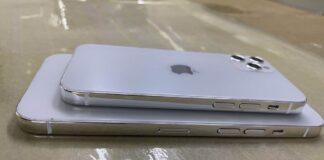 I modelli di iPhone 12 svelano stile iPad Pro e confronto dimensioni