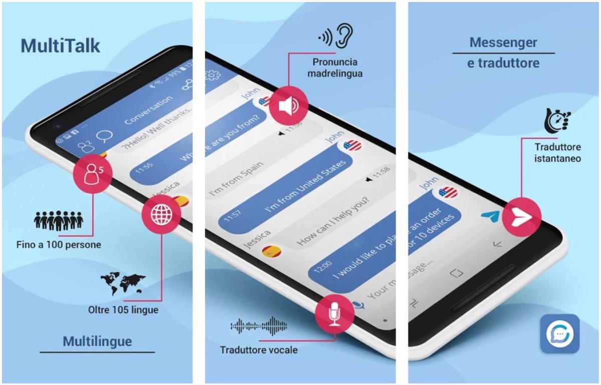 L'app Vasco MultiTalk fa conversare fluentemente in 105 lingue diverse