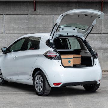 Nuova ZOE Van per la logistica a zero emissioni