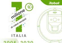 Un milione di aspirapolvere Roomba nelle case degli italiani