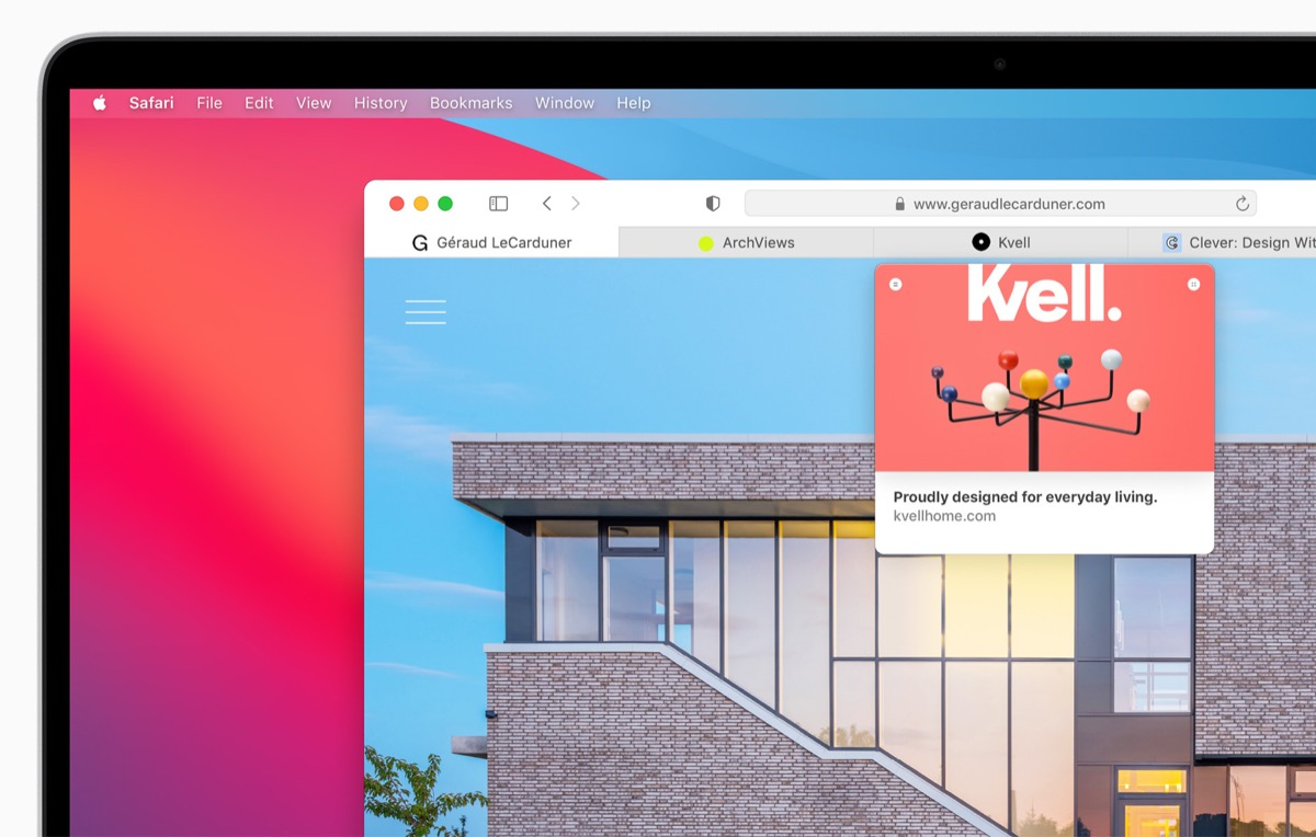 Safari 109, online la versione sperimentale del browser pronto per macOS Big Sur