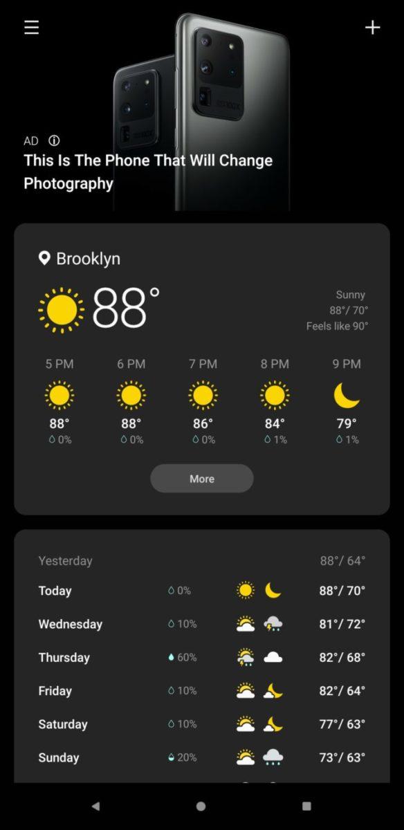 Samsung OneUI mostra la pubblicità e gli utenti non sono contenti