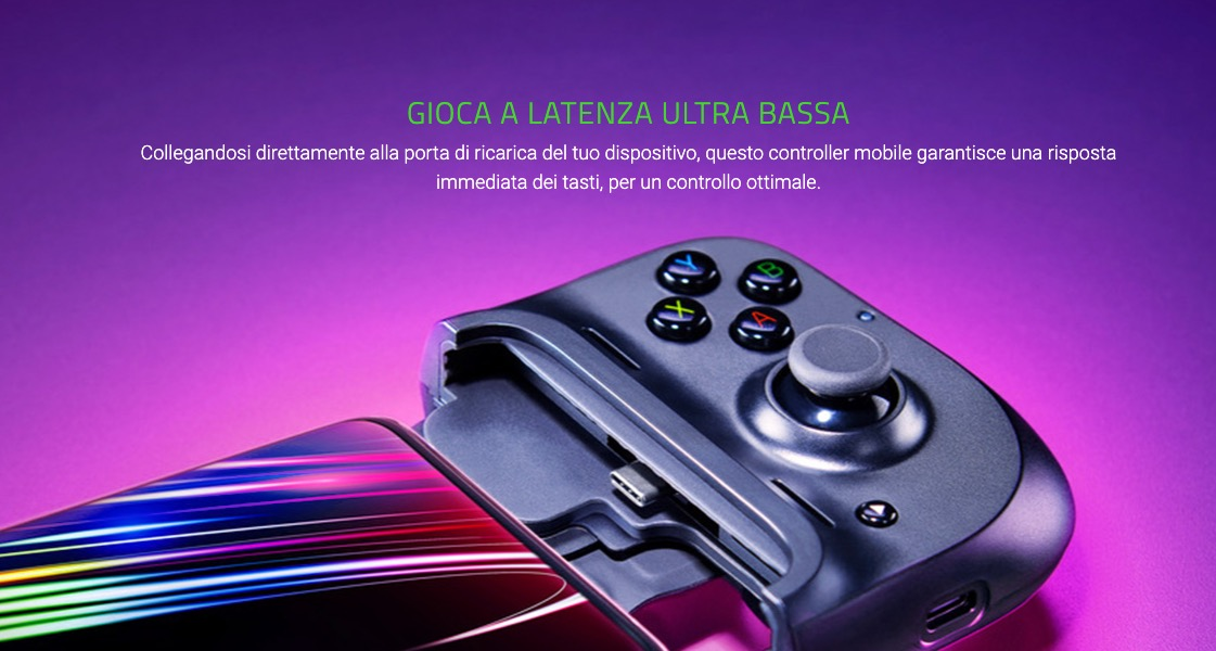 Kishi di Razer trasforma gli smartphone in stile Nintendo Switch