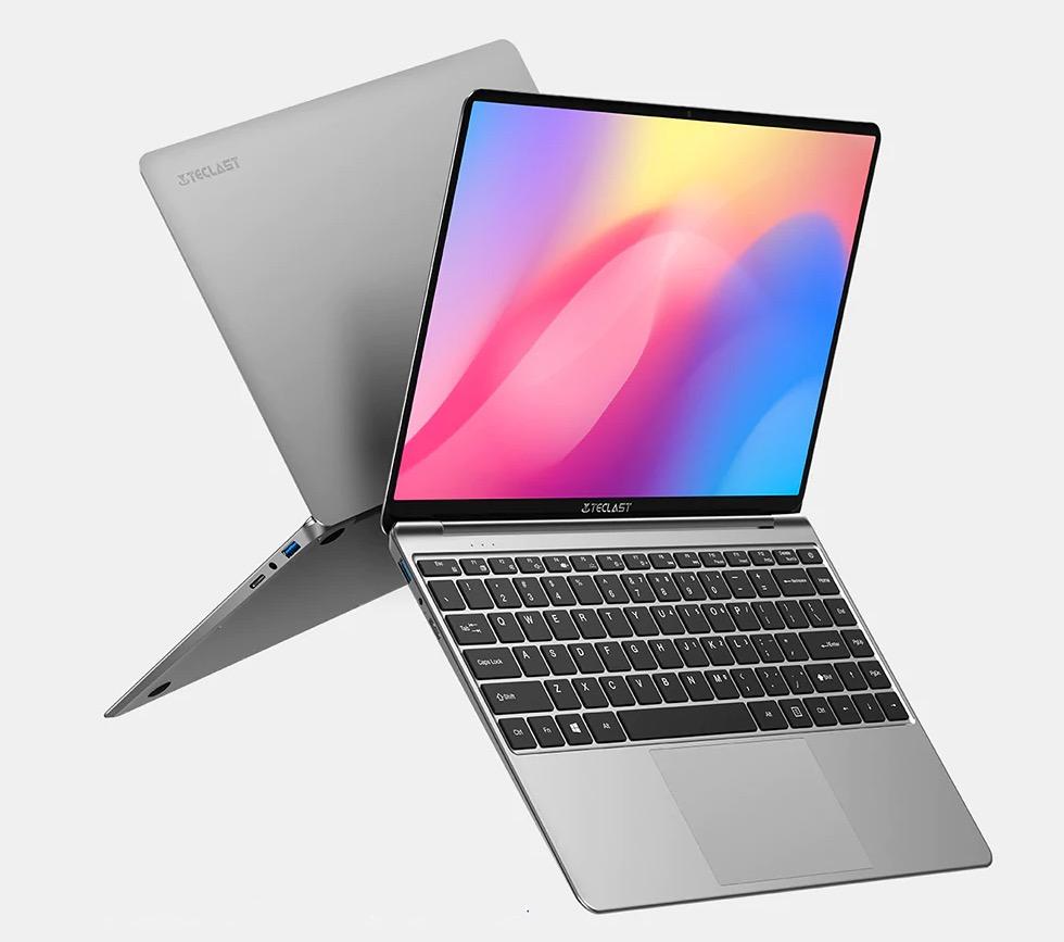 Teclast F7S, il notebook ultra snello da 14,1 pollici con CPU Intel e 8GB RAM in offerta lampo a 284,59