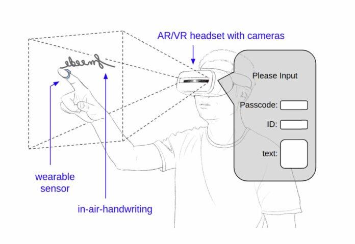 Realtà Virtuale, in un demo di alcuni ricercatori la possibilità di riconoscere password disegnandole in aria