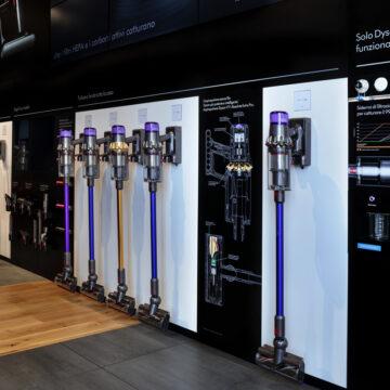 Dyson Demo Store Gae Aulenti apre a Milano, la fotogalleria
