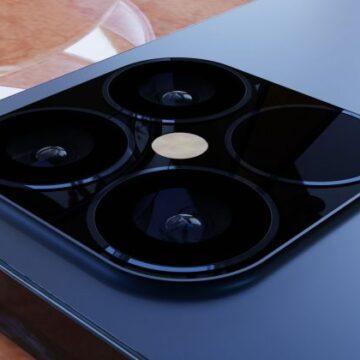 Come sarebbe iPhone 12 in blu navy e stile iPhone 4