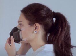 UVMask, la mascherina anti-covid che purifica l'aria