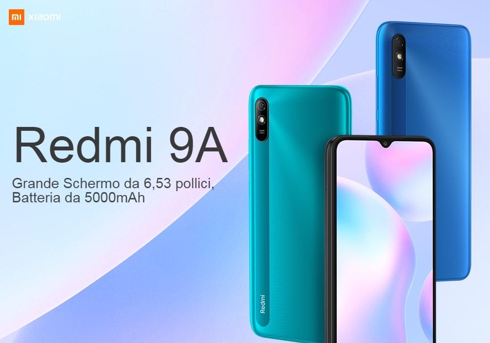 Il nuovissimo Xiaomi Redmi 9A già in super sconto a 88,81 euro