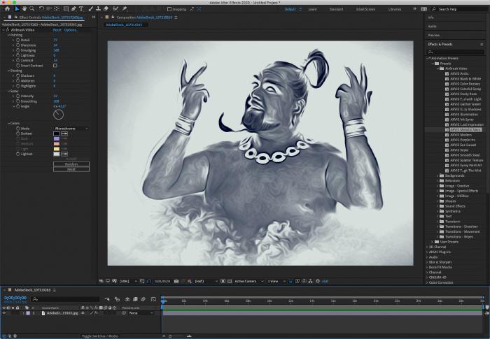 AKVIS AirBrush Video 1.0: effetti aerografia nei video per Mac e PC
