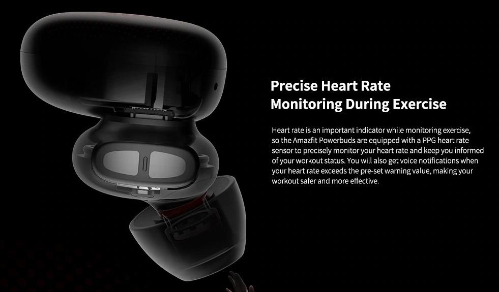 Amazfit PowerBuds, arrivano le cuffie wireless con cardiofrequenzimetro integrato