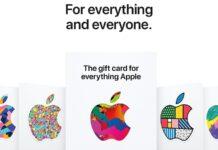 Nuove carte regalo Apple uniche per software e hardware, sembrano dei collezionabili