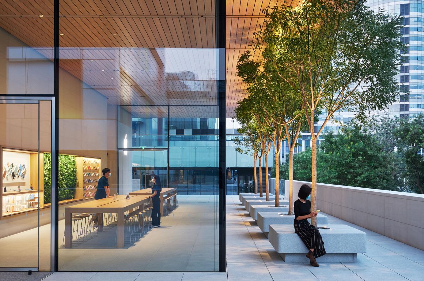 Cina, il nuovo store Apple Sanlitun apre oggi