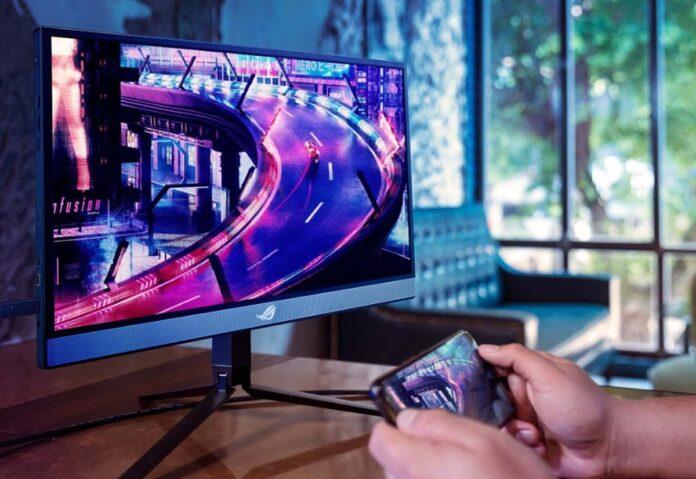 ASUS ROG ROG Strix XG17AHP, in Italia il monitor portatile con il refresh rate a 240 Hz