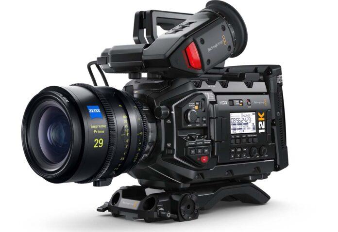Blackmagic URSA Mini Pro 12K è la nuova cinepresa digitale 12K