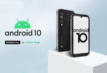 Blackview BV9900 Pro, per lo smartphone rugged con fotocamera termica arriva Android 10