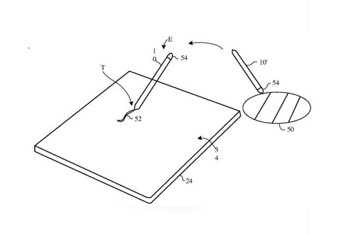 In un brevetto di Cupertino l'Apple Pencil per campionare i colori reali