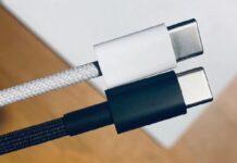 Il cavo intrecciato degli iPhone 12 appare in foto