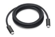 Apple vende il nuovo cavo Thunderbolt 3 Pro intrecciato