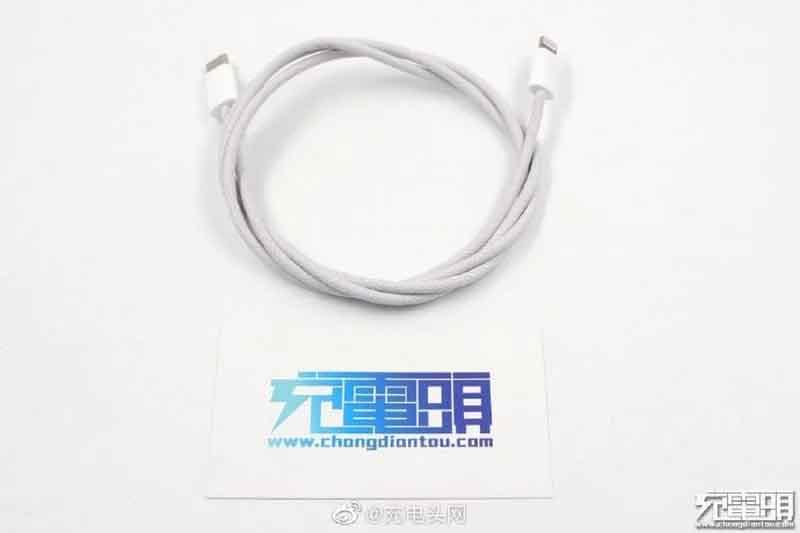 iPhone 12 includerà di serie un cavo in nylon intrecciato da USB-C a Lightning?