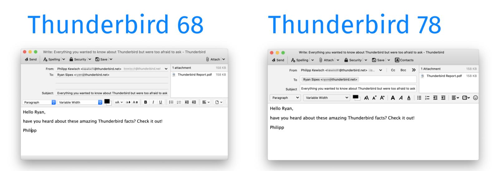 Mozilla Thunderbird 78 è più moderno e vanta varie novità