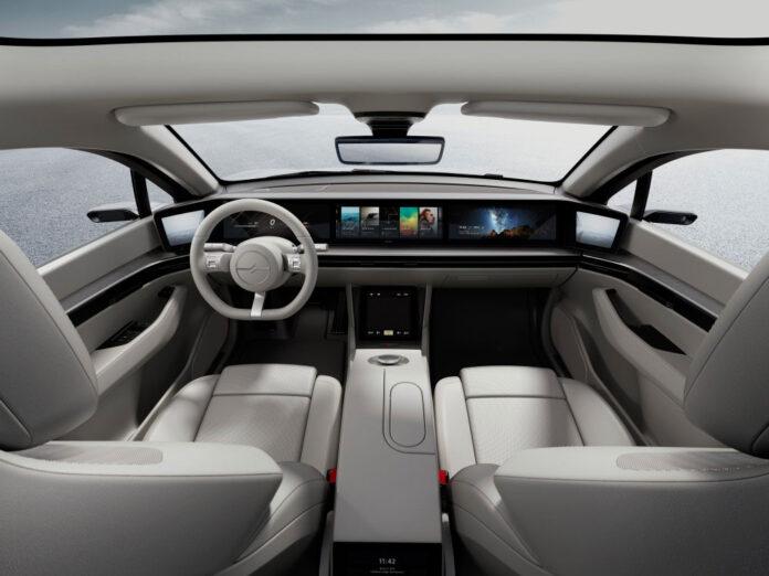 Sony testerà il prototipo di auto elettrica Vision-S su strade pubbliche