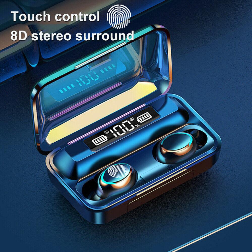 Solo 10 euro per le cuffie true wireless touch BT 5.0 con autonomia fino a 9 giorni