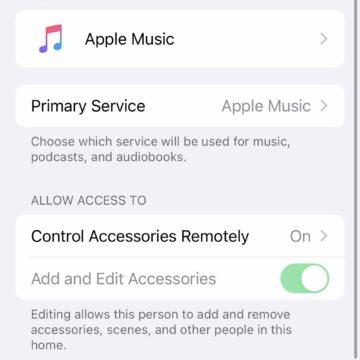 Nella beta 2 del software HomePod si possono scegliere i servizi di default per Musica, Podcast e audiolibri