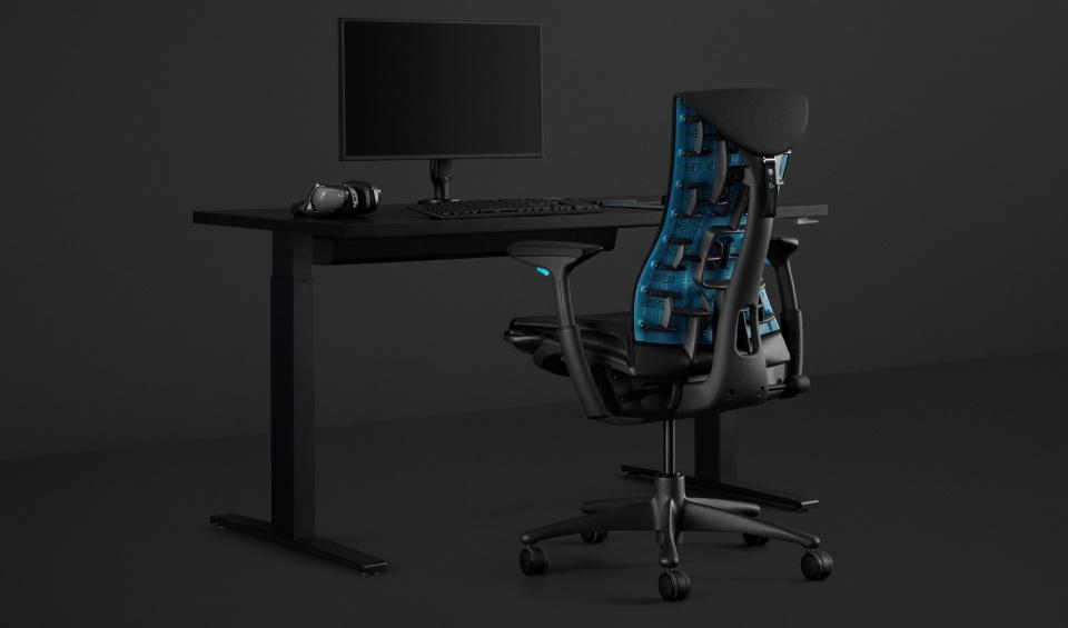 Logitech e Herman Miller hanno realizzato una sedia da gioco da 1500 dollari
