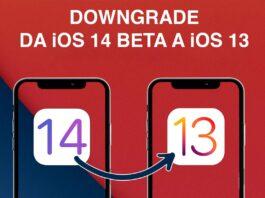 Come ritornare a iOS 13 da iOS 14