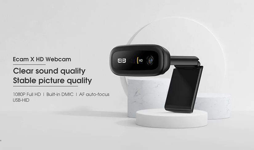 Elephone Ecam X 1080P, bastano 13 euro per essere pronti a video riunioni e smart working