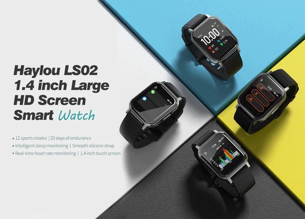 Solo per oggi lo smartwatch Haylou LS02 in offerta con coupon a 24,75 euro