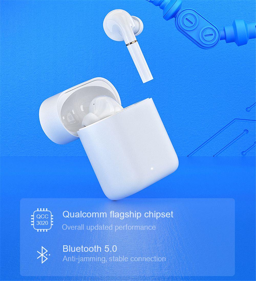 Haylou T19, la cuffie auricolari true wireless di Xiaomi youpin con 4 microfoni e ricarica wireless